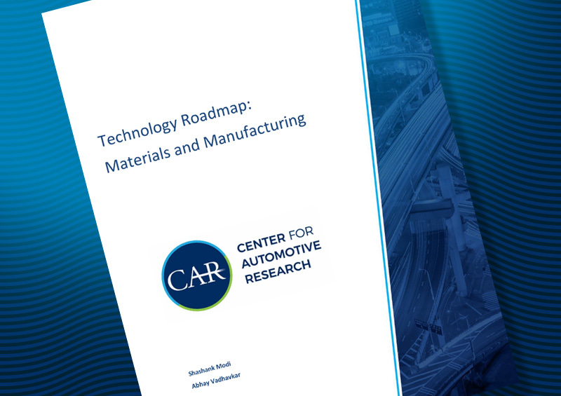 Technology Roadmap: Materials and Manufacturing