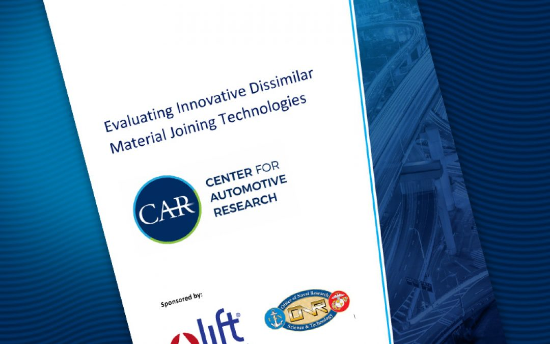 Evaluating Innovative Dissimilar Material Joining Technologies