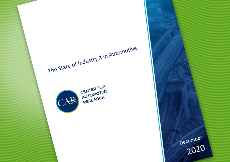The State of Industry X in Automotive